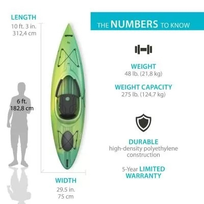 Lifetime Tide Green Kayak