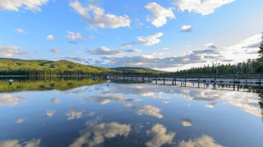 The Beautiful Lac Le Juene